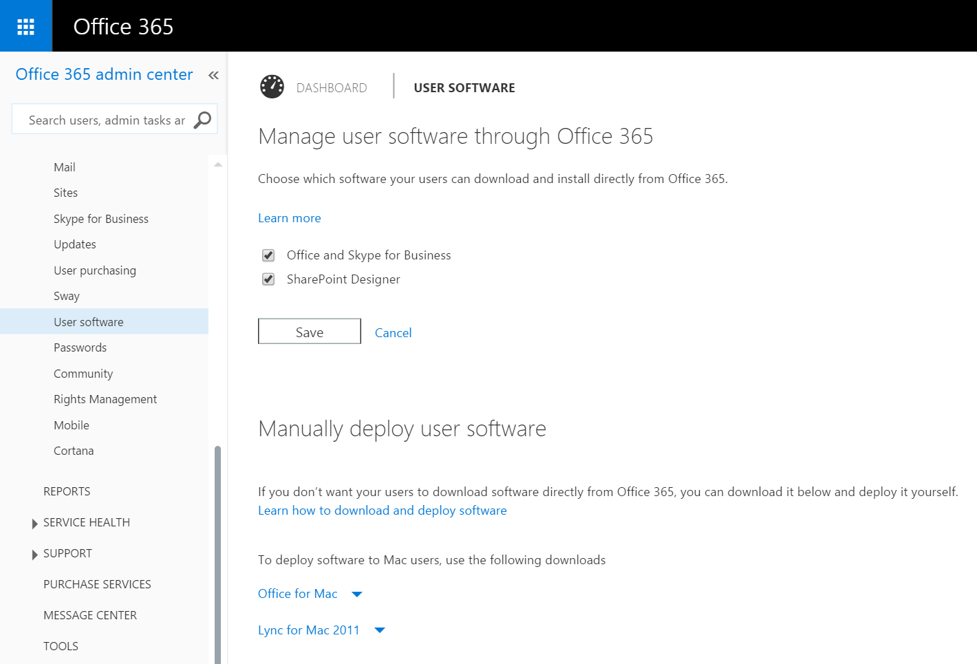 Office 365 User Software