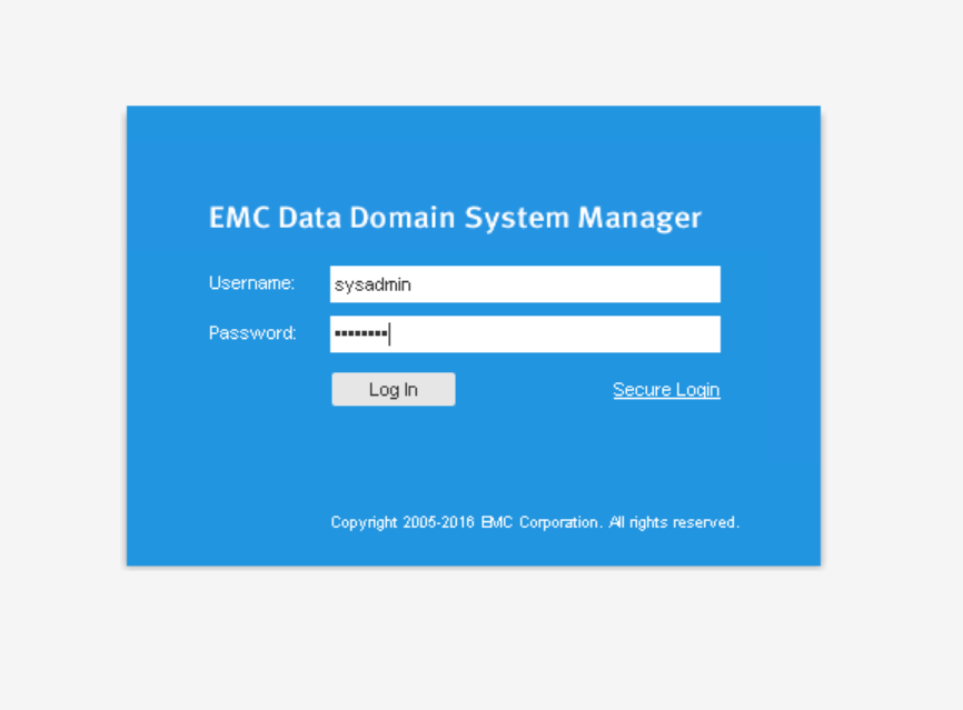domalab.com Data Domain VE install login
