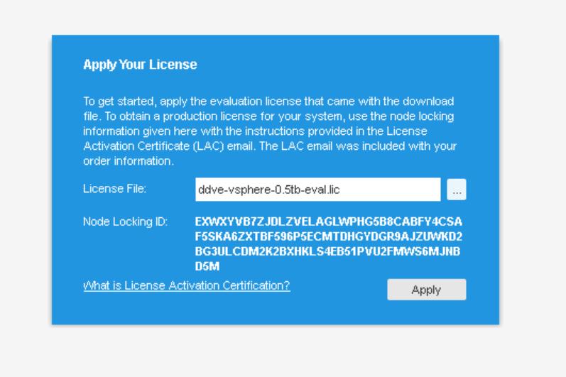 domalab.com Data Domain VE install license