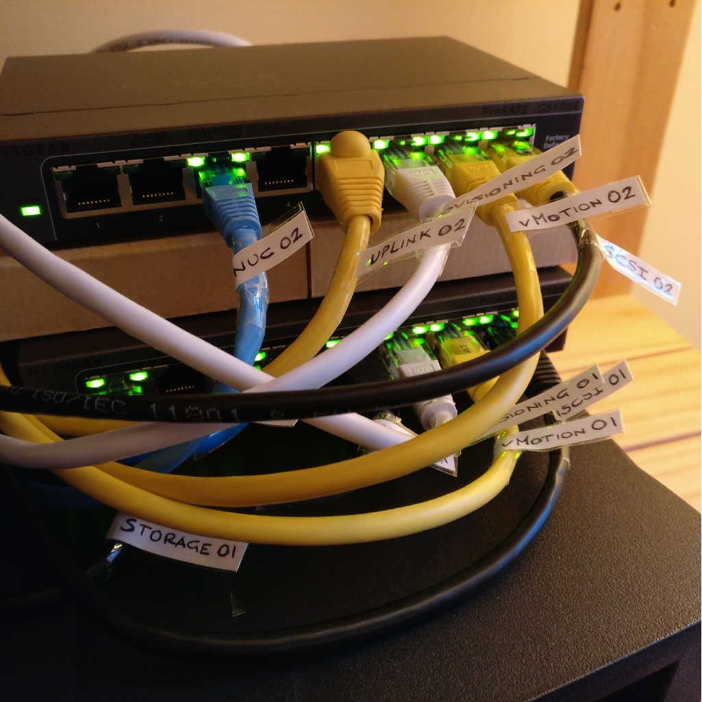Vmware Vsphere Networking Setup In A Home Lab 187 Domalab