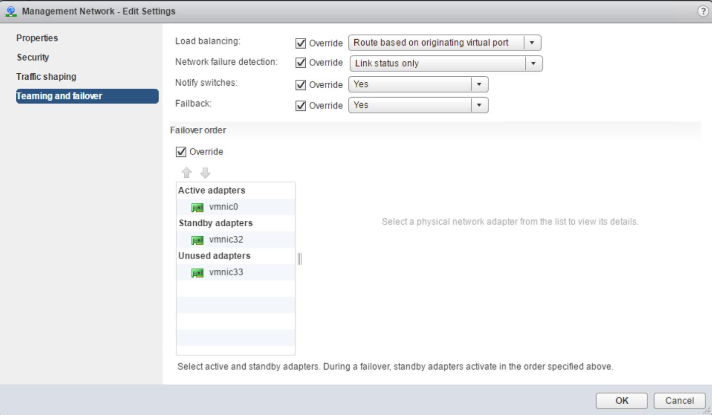 domalab.com home lab port group settings