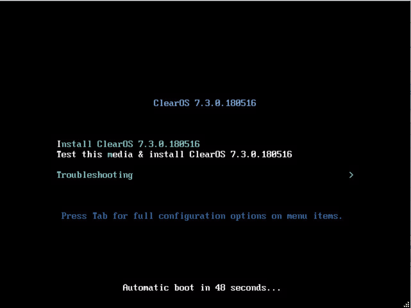 How to install ClearOS on VMware ESXi