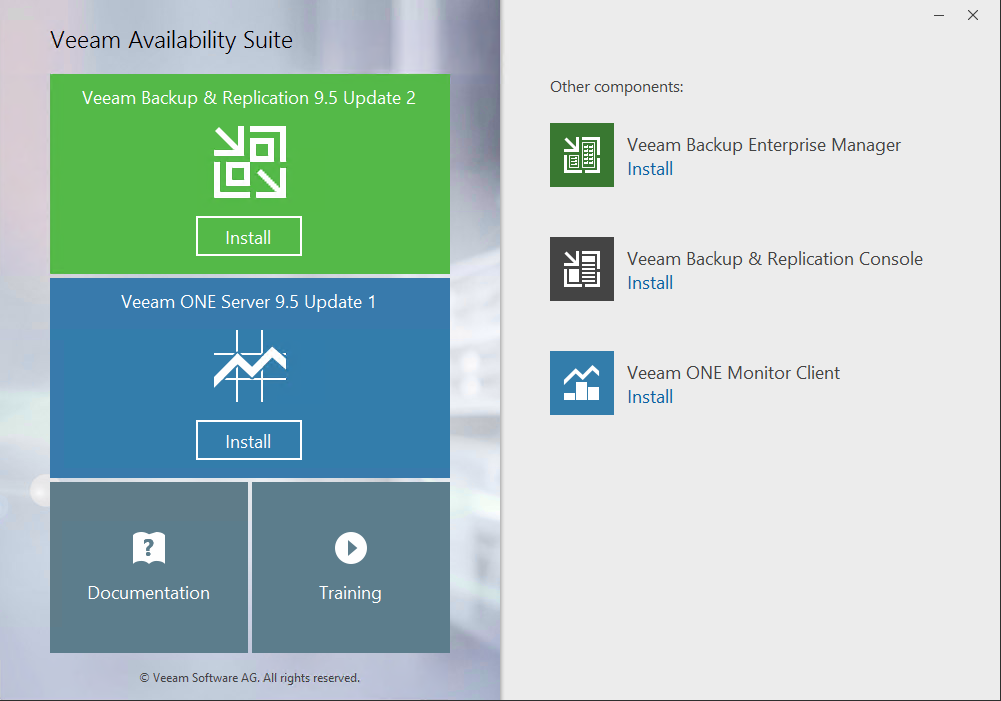 Veeam Backup & Replication new features overview