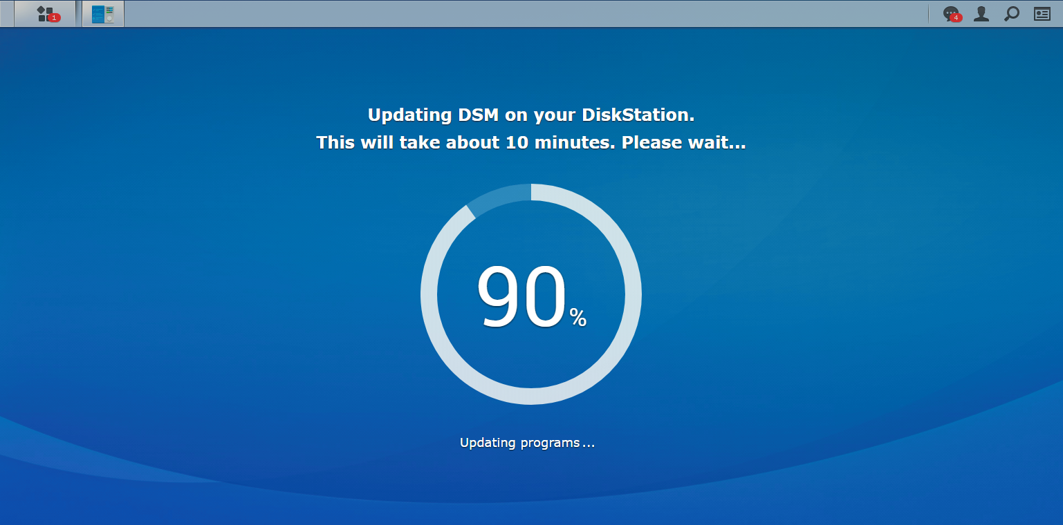 How To Update Synology Nas To The Latest Release 187 Domalab