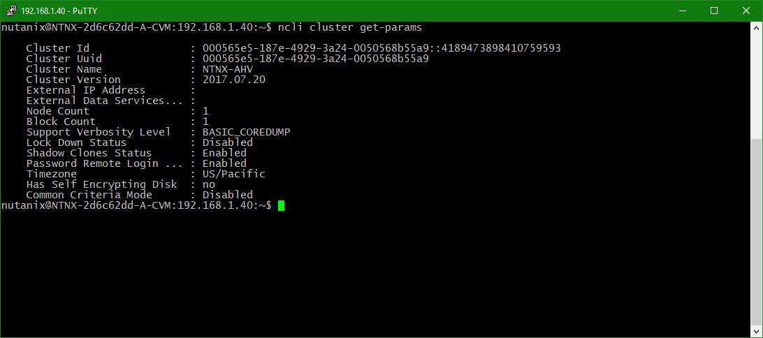 domalab.com configure Nutanix timezone list parameters