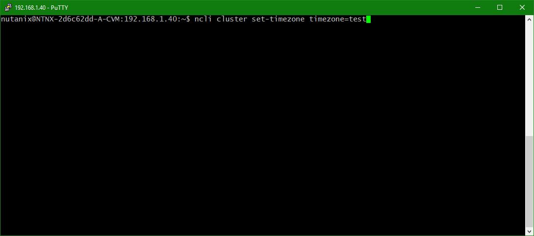 domalab.com configure Nutanix timezone list zone names