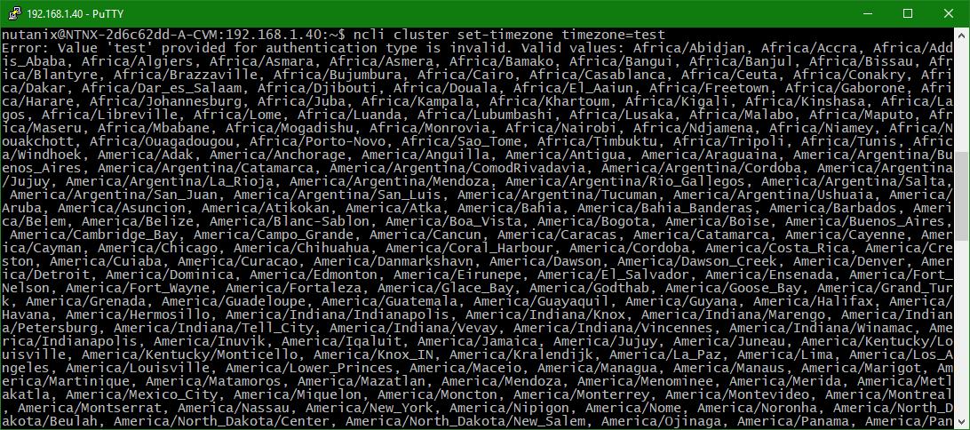 domalab.com configure Nutanix timezone names