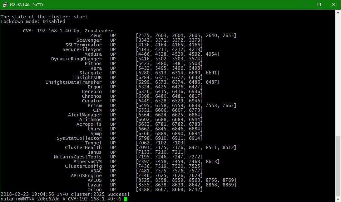 domalab.com configure Nutanix timezone cluster running