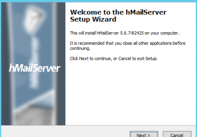 Quick install hMailServer on Windows Server
