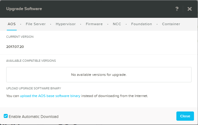 domalab.com Upgrade Nutanix AOS