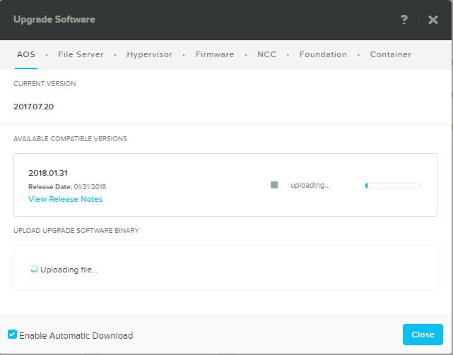 domalab.com Upgrade Nutanix latest version upload