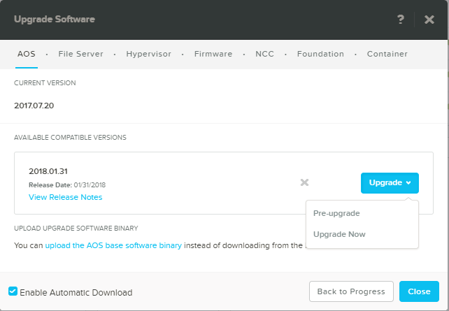 domalab.com Upgrade Nutanix now
