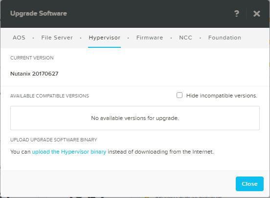 domalab.com Upgrade Nutanix AHV
